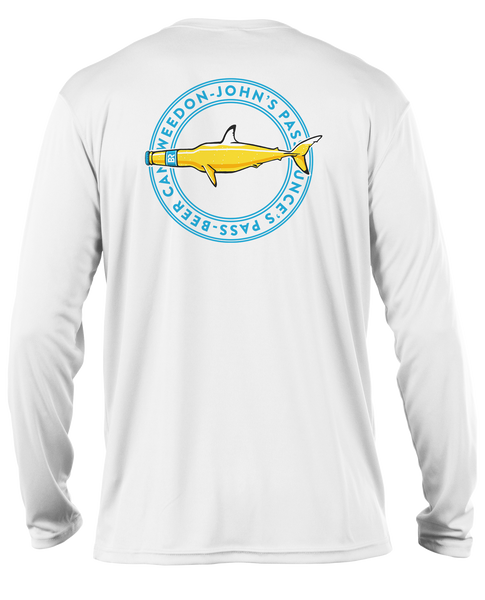 Sandbar Shark L/S - Performance White