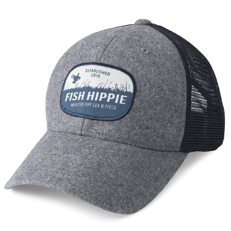 Fish Hippie Upland Trucker - Gray