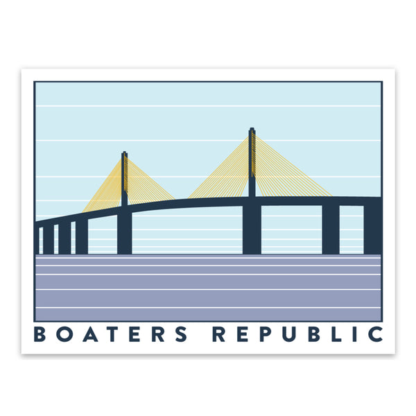 Boaters Republic BR Skyway Decal - Boaters Republic