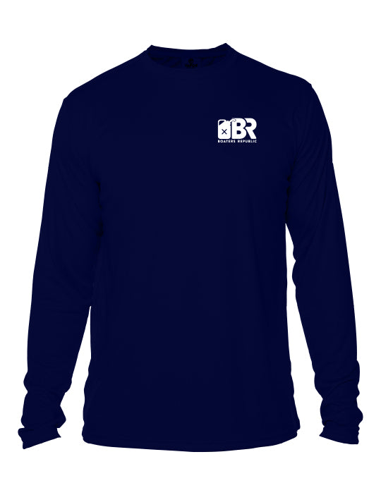 No One Rides L/S - Performance Navy