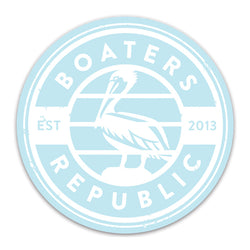 Pelican Stamp Decal - Carolina