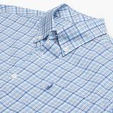 Monroe Prep-Formance Button Down Shirt - Gulf Blue