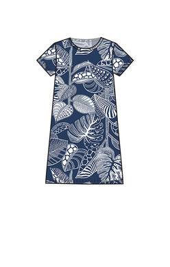 Sun Spots Aria Dress - Navy