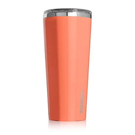 Corkcicle Corkcicle 24 oz tumbler GLoss Peach Echo - Boaters Republic