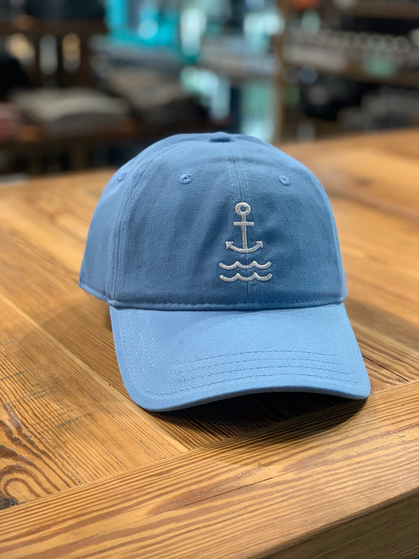 BR Signature Logo Dad Hat - Carolina Blue