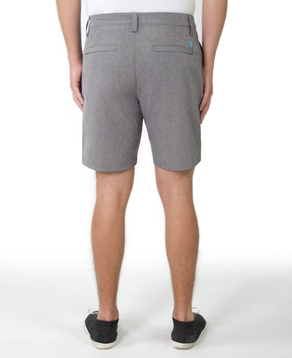 Tori Richard Surf N Turf Short Charcoal