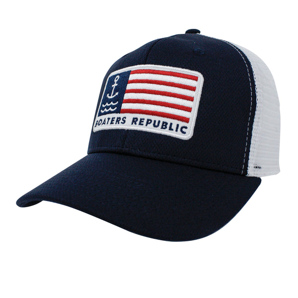 Anchor Flag Trucker - Navy White