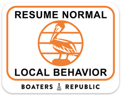 Resume Normal Local Behavior Decal