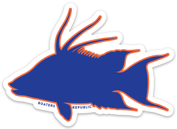 Game Day Gainesville Hogfish Decal