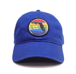Youth Florida Sunset Unstructured Hat - Royal