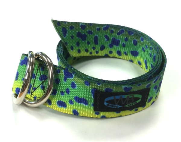 Wingo Belts Wingo D-Ring Belt - Artisan Mahi Mahi - Boaters Republic