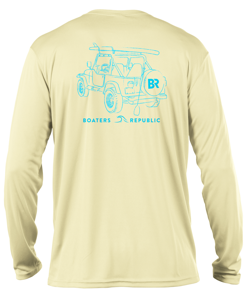 Paddle Jeep L/S -  Performance Yellow