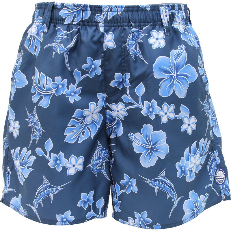 AFTCO Boatbar Swim Trunks - Midnight