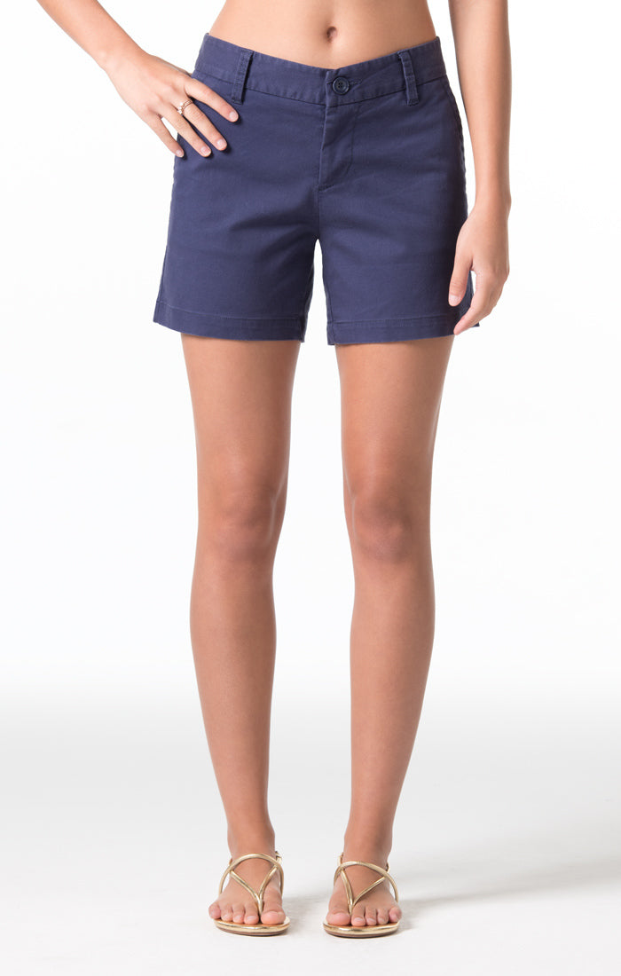 Denim Twill Cindy Short - Navy