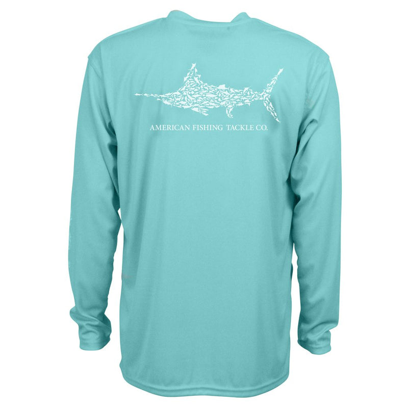 AFTCO Jigfish L/S Shirt - Mint