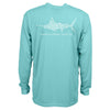 AFTCO AFTCO Jigfish L/S Shirt - Mint - Boaters Republic