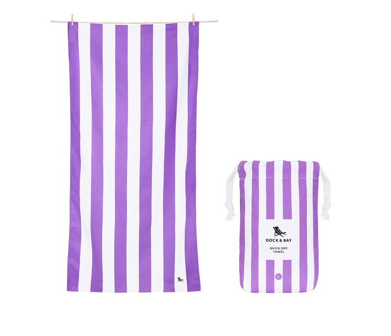 Cabana Quick Dry Towel - XLG - Brighton Purple