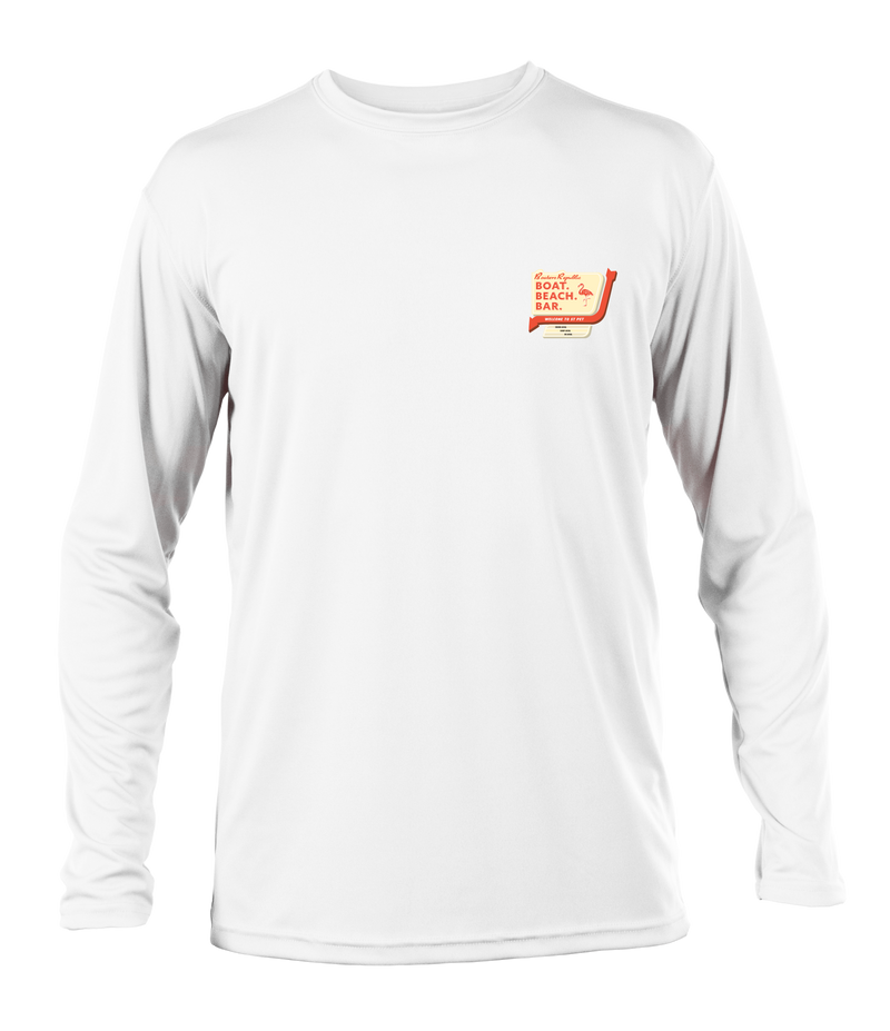 Boaters Motel L/S - Performance White