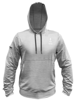 Helm Performance Hoodie - Light Grey