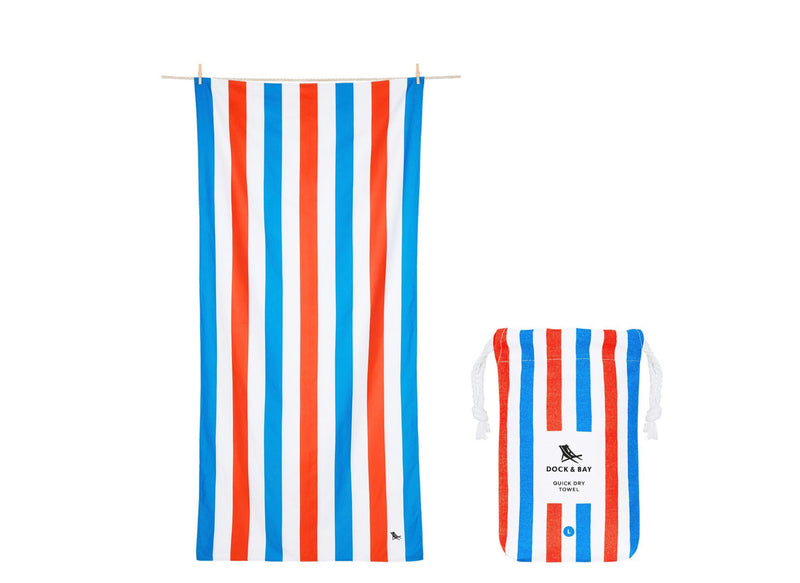 Cabana Quick Dry Towel - XLG - Poolside Party