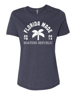 Florida Made S/S - Heather Navy