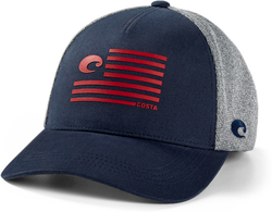 Pride Logo Trucker - Heather Navy