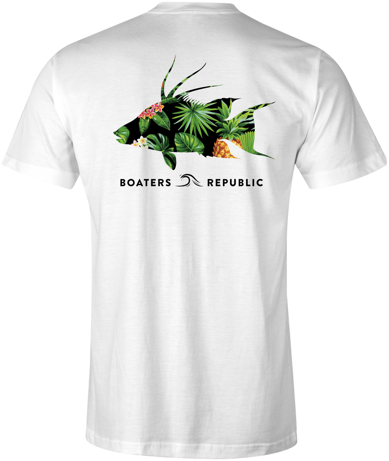 Tropical Hogfish S/S - White