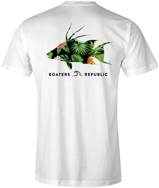 Tropical Hogfish S/S - Heather White
