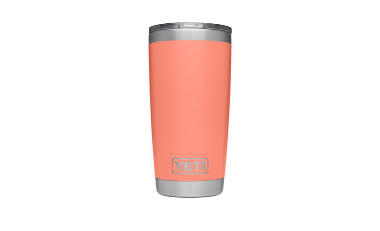Yeti Yeti Rambler 20 oz. Tumbler w/ Magslider Lid - Coral - Boaters Republic