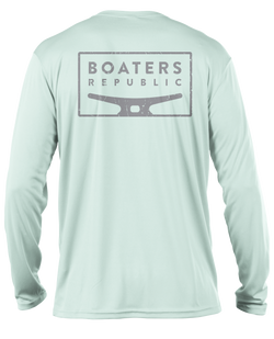 Distressed Cleat L/S - Performance Seagrass