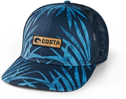 Coco Palms Trucker Hat Blue