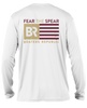 Fear The Spear L/S - Performance White