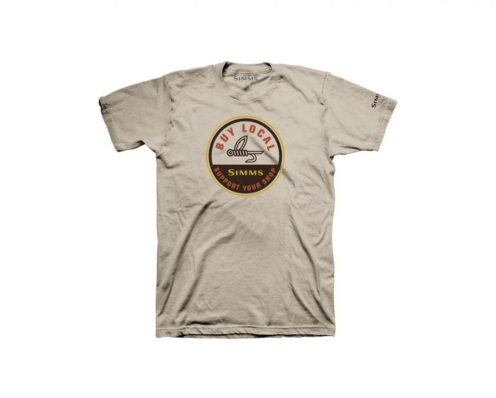 Simms Buy Local S/S - Sand