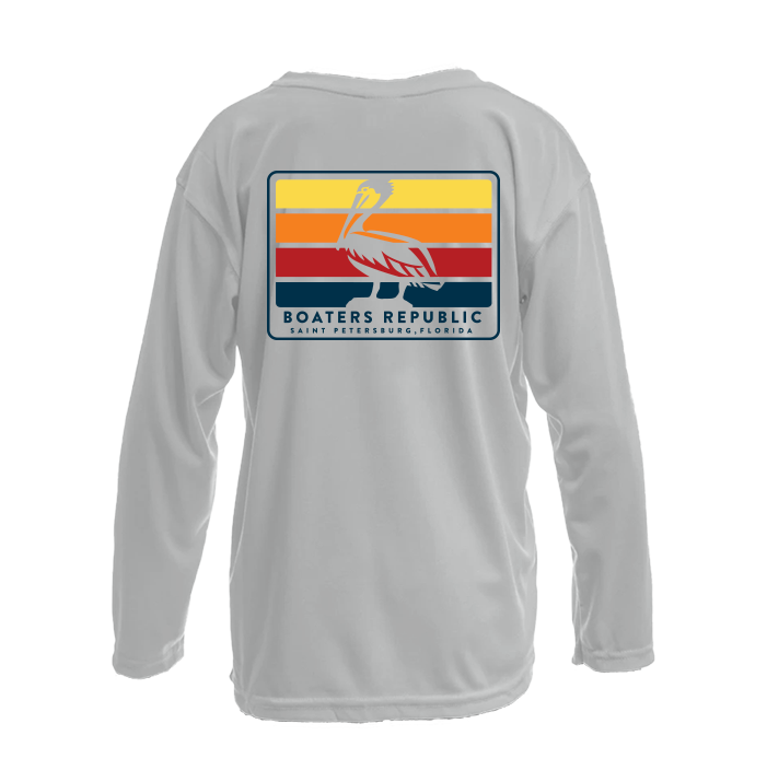 Youth - Pelican Bars - Pearl Grey -  L/S