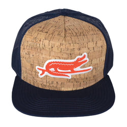 Surf Gator Trucker - Cork/Navy