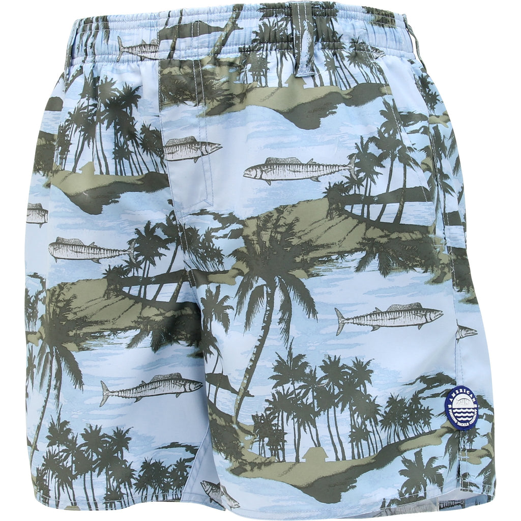 AFTCO Boatbar Swimwear Trunks - Sky