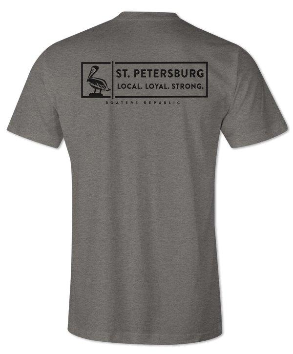 St. Pete Strong S/S - Heather Ash