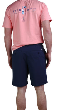 Fish Hippie Performance Drift Short - Navy