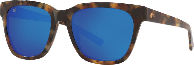 Coquina - Shiny Vintage Tortoise Frame / Blue Mirror 580G