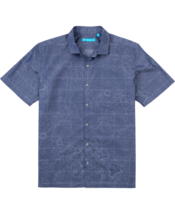 Topography S/S - Navy