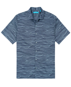 Tranquil Sea - Navy