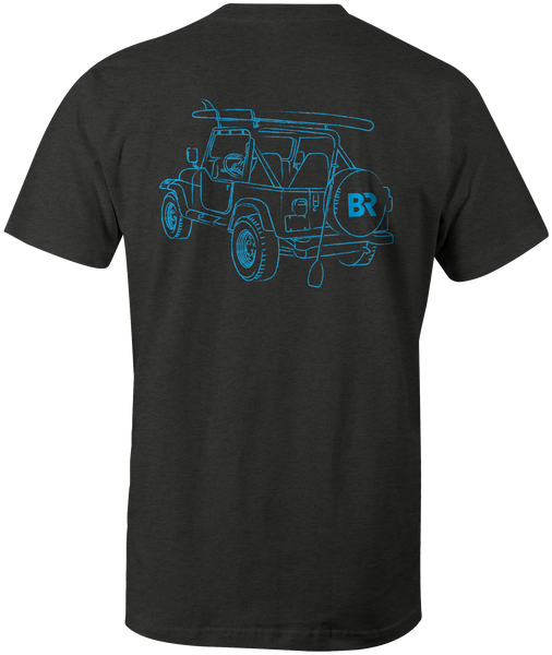 Paddle Jeep S/S - Heather Charcoal