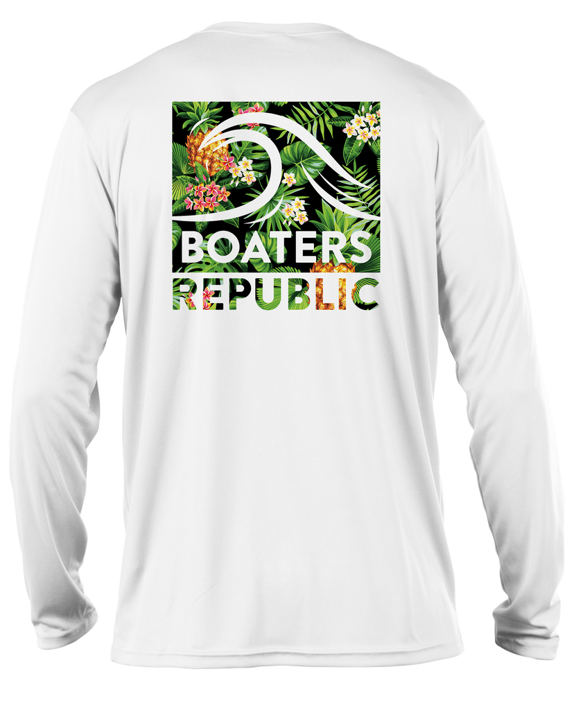 Tropical Wave L/S - Performance White