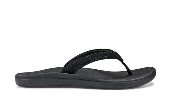 Olukai Ho'Opio Girls - Black/Black