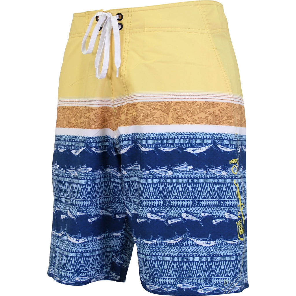 AFTCO Super Cutlet Boardshorts - Midnight