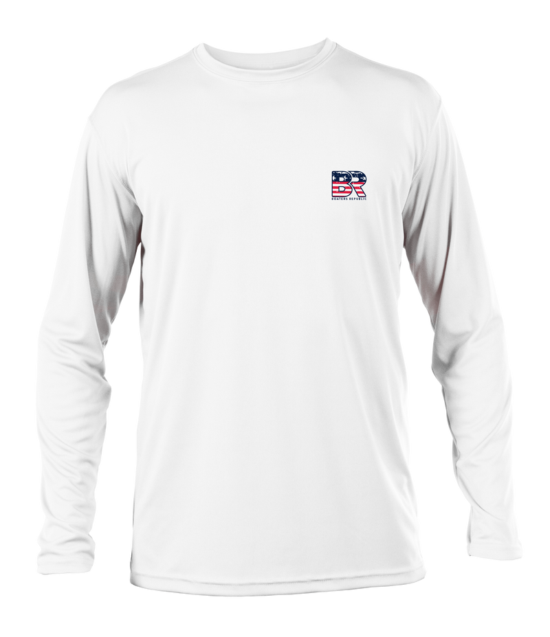 Make Boating Great Again L/S - Performance White