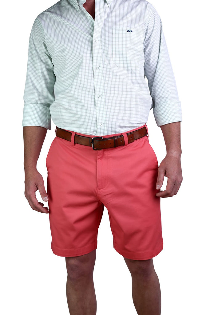 Fish Hippie Fish Hippie Stretch Twill Drift Short - Dockside Coral - Boaters Republic
