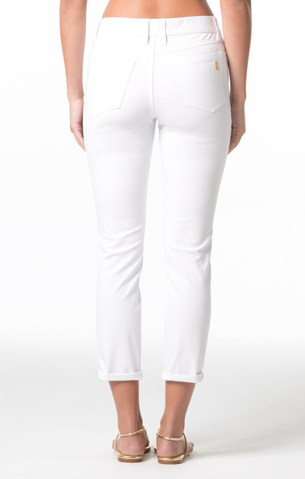 Denim Twill Ginger Jeans - White