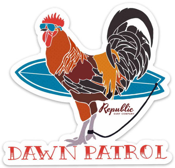 Dawn Patrol Decal