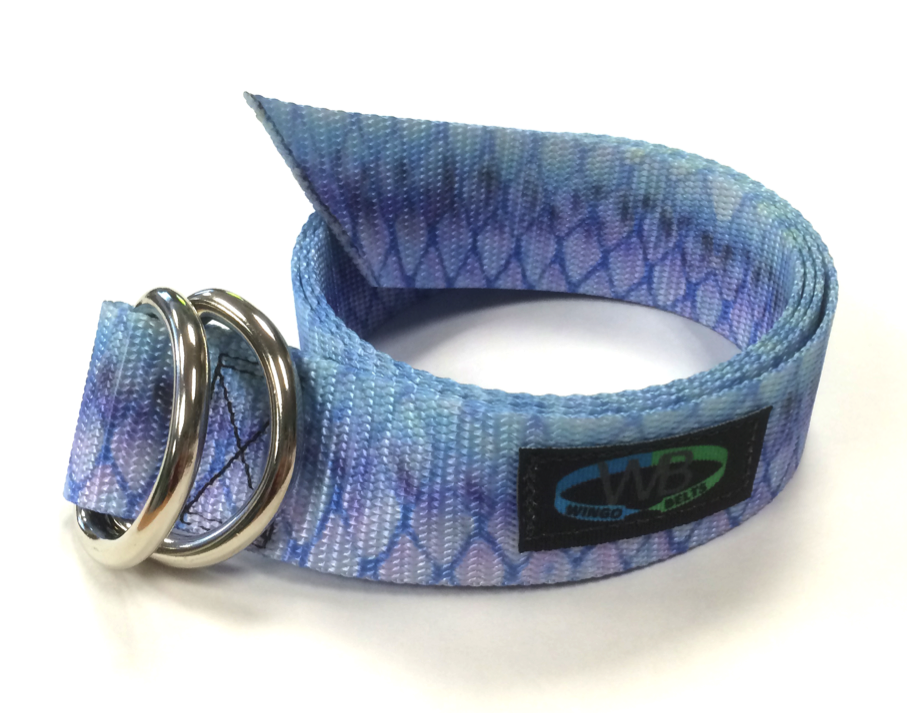 Wingo Belts Wingo D-Ring Belt - Artisan Tarpon - Boaters Republic